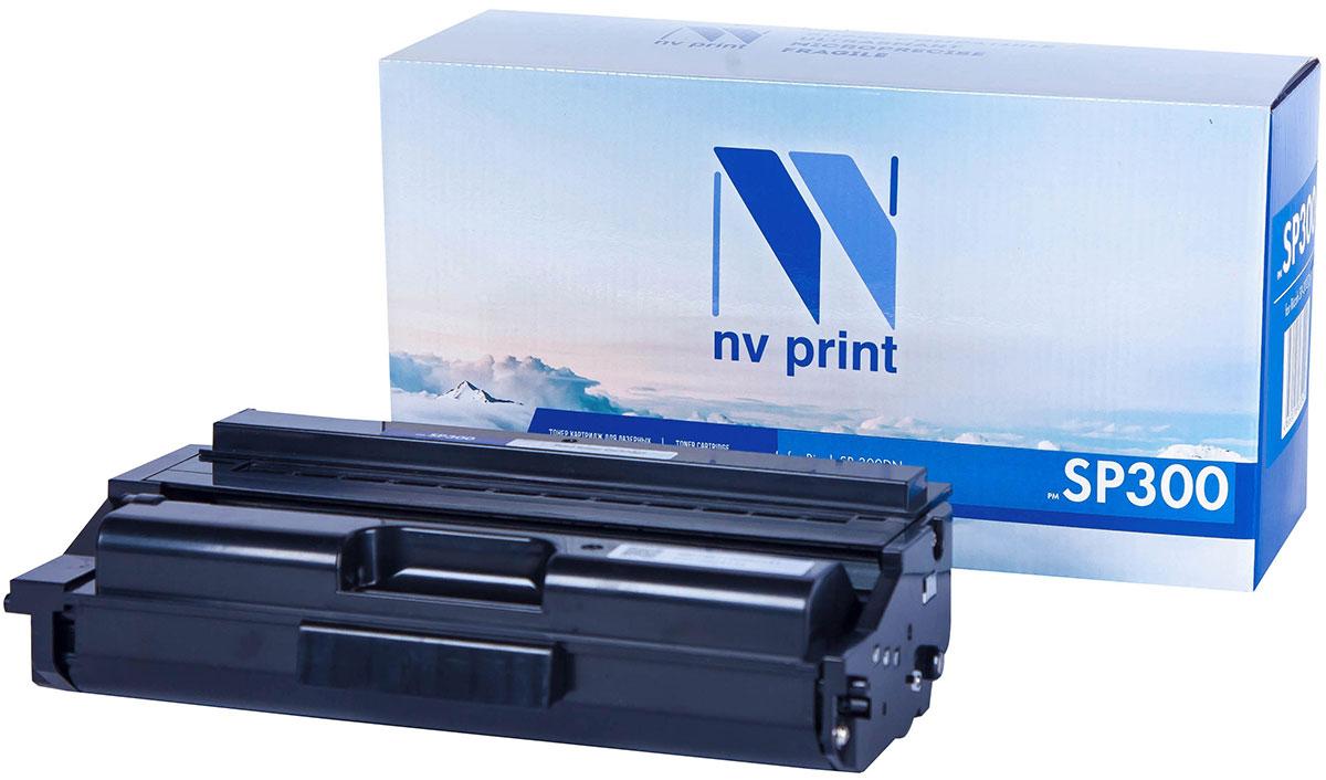 NV Print SP300, Black тонер-картридж для Ricoh SP-300DN nv print nv tn1075 black тонер картридж для brother hl1012 dcp1510 1512 mfc1815 1112r