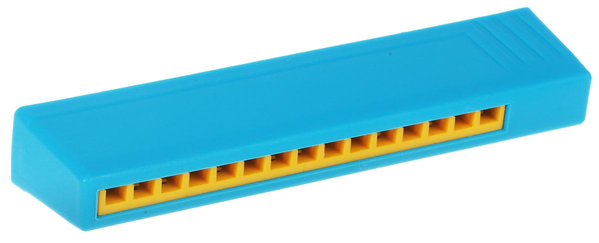 Пластмастер Музыкальная игрушка Гармошка цвет голубой