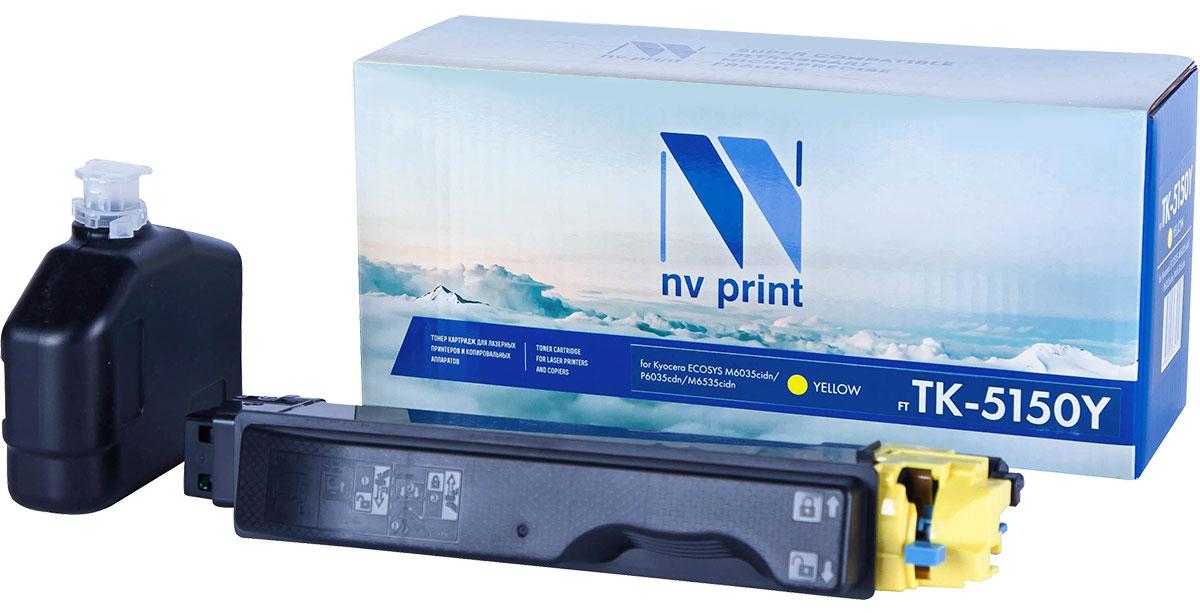 NV Print TK5150, Yellow тонер-картридж для Kyocera ECOSYS M6035cidn/P6035cdn/M6535cidn lcl tk580 tk 580 tk 580k tk 580c tk 580m tk 580y 5 pack toner cartridge compatible for kyocera ecosys p 6021 cdn fs c 5150 dn