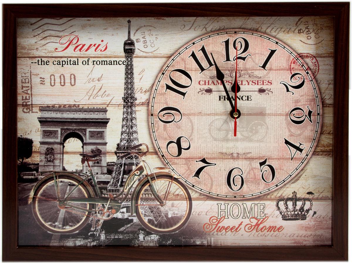 Часы настенные Сердце Франции, 33 х 43 см. 229721 ваш дом