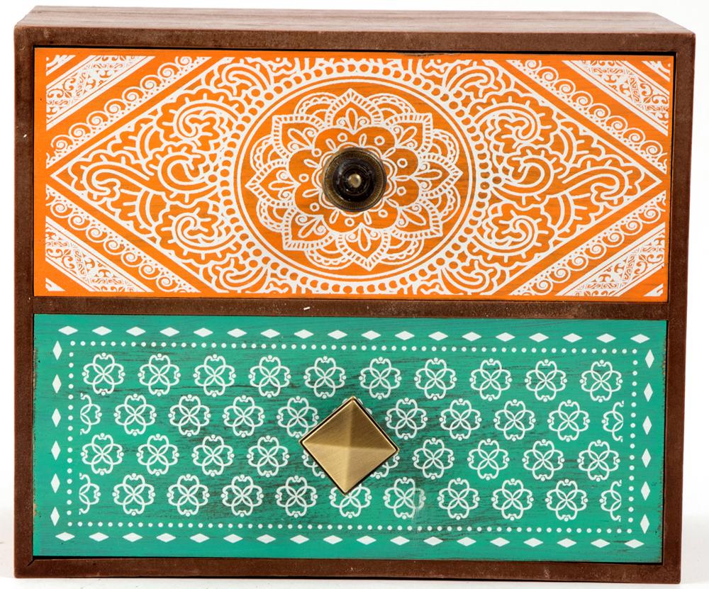 Шкатулка для хранения, цвет: коричневый, 23 х 13 х 19 см. 3860438604Шкатулка для ювелирных украшений является предметом женского обихода, предназначена не только для хранения драгоценностей и ювелирных украшений, но являются частью интерьера.Прекрасно подойдет в качестве подарка на любой праздник.