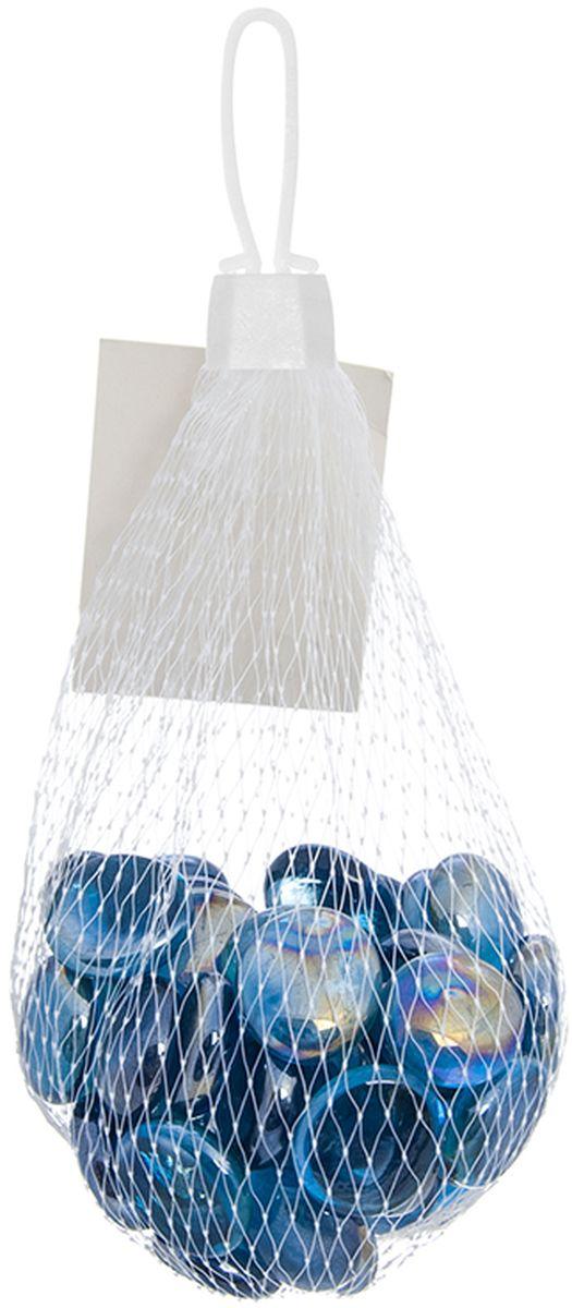 Украшение декоративное Elan Gallery Ягодки, цвет: голубой171742Декоративные стеклянные камешки можно использовать для составления мозаики, создания декоративных панно, флористики, оформления аквариумов, детского творчества и украшения дома своими руками.