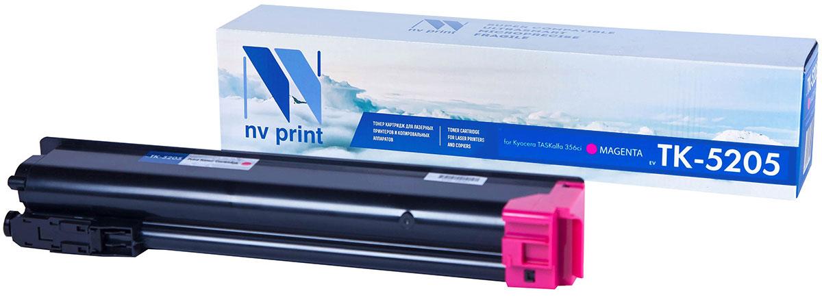 NV Print TK5205, Magenta тонер-картридж для Kyocera TASKalfa 356ciNV-TK5205MСовместимый лазерный картридж NV Print TK5205 для печатающих устройств Kyocera - это альтернативаприобретению оригинальных расходных материалов. При этом качество печати остается высоким. Картриджобеспечивает повышенную чёткость текста и плавность переходов оттенков цвета и полутонов,позволяет отображать мельчайшие детали изображения.Лазерные принтеры, копировальные аппараты и МФУ являются более выгодными в печати, чем струйныеустройства, так как лазерных картриджей хватает на значительно большее количество отпечатков, чем обычных.Для печати в данном случае используются не чернила, а тонер.
