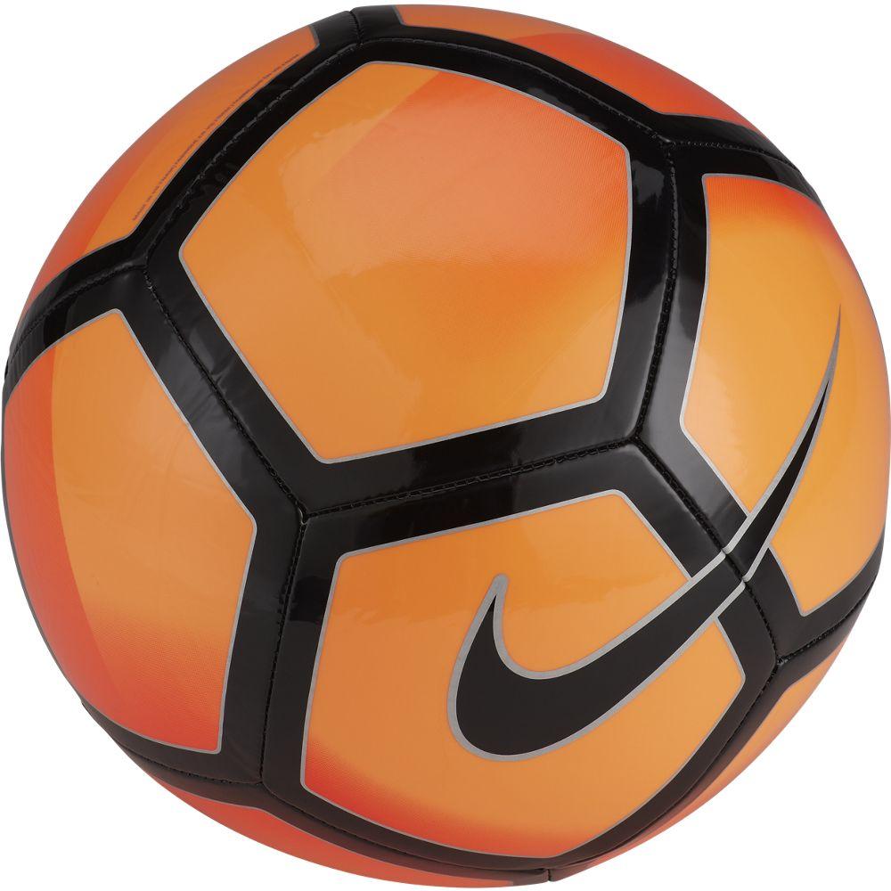 Мяч футбольный Nike Pitch Football. Размер 5SC3136-845Футбольный мяч Nike Pitch с высококонтрастной графикой хорошо заметен во время игры итренировок. Прочная упругая конструкция обеспечивает точную траекторию полета мяча.Конструкция из 32 панелей для прочности. Машинная строчка на покрышке из материала TPU длястабильной игры. Высококонтрастная графика делает мяч хорошо заметным.