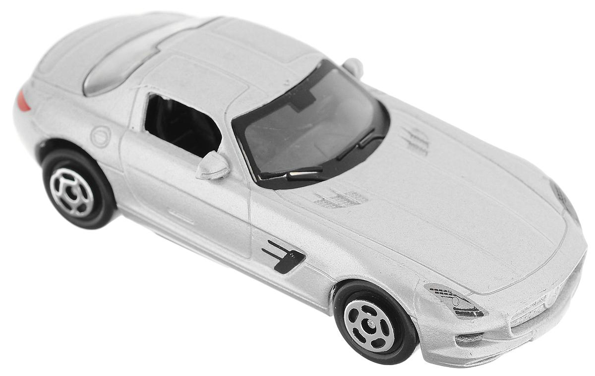 ТехноПарк Автомобиль Mercedes-Benz SLS AMG цвет серебристый yandex w205 amg style carbon fiber rear spoiler for benz w205 c200 c250 c300 c350 4door 2015 2016 2017