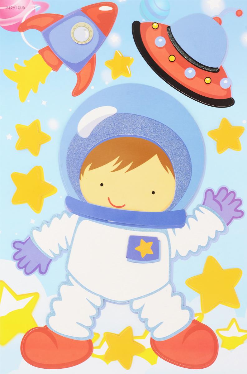 Room Decor Наклейка интерьерная объемная Космонавт