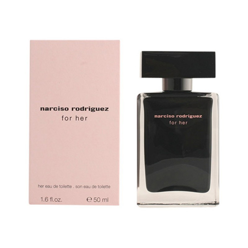 Narciso Rodriguez For Her Туалетная вода, 50 мл narciso rodriguez for him туалетная вода спрей 100 мл