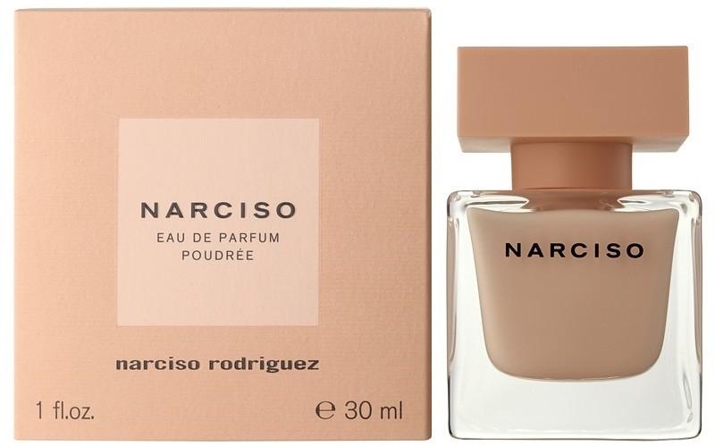 Narciso Rodriguez Narciso Poudree Парфюмерная вода Lady, 30 мл968495Верхние ноты: Болгарская роза, Жасмин и Апельсиновый цвет; средняя нота: Мускус; базовые ноты: Ветивер, Белый кедр, Кумарин и Пачули.