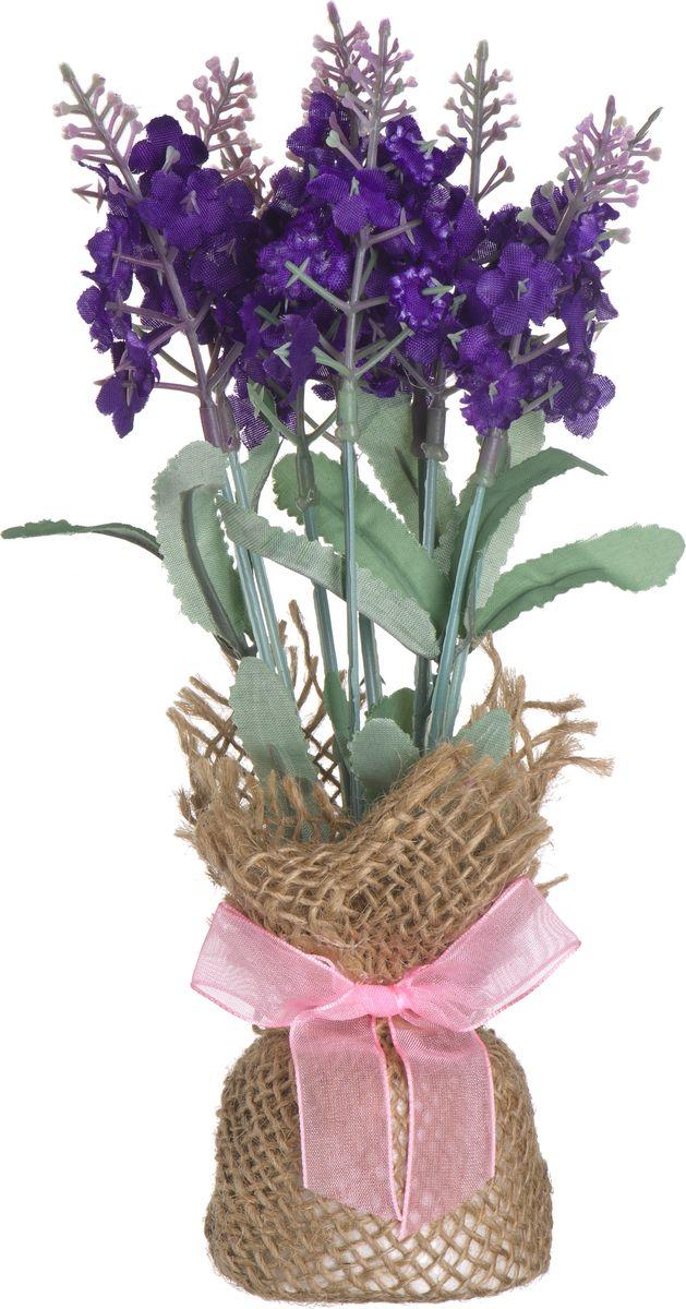Композиция цветочная Engard Лаванда, в мешочке, 21 смB-YI-14Искусственные цветы Engard - это популярное дизайнерское решение для создания природного колорита и гармонии в пространстве. Цветушая лаванда в тканевом мешочке высотой 21 см выполнена аккуратно и довольно реалистично.