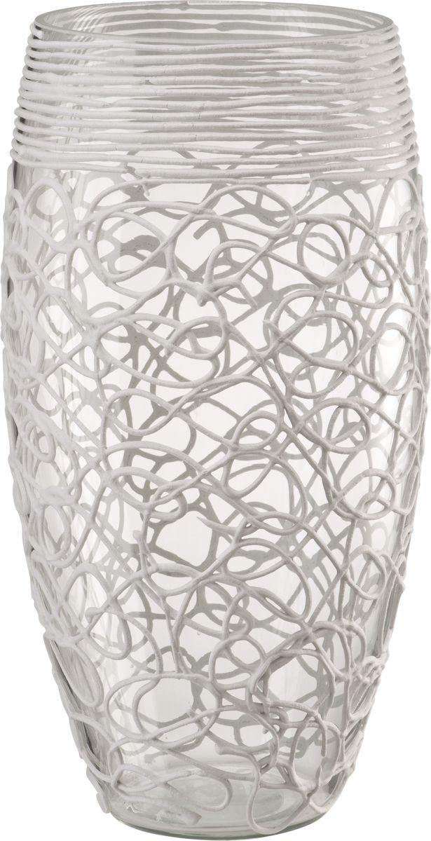 Ваза Engard Бочонок, 30 смHF-02В современном мире ваза является неотъемлемым предметом украшения и декора интерьера создавая уют и гармонию в пространстве. Стеклянная ваза высотой 30 см в дизайне кружево выглядит изящно и воздушно. Белый цвет и рисунок придают вазе утонченность и богемность.