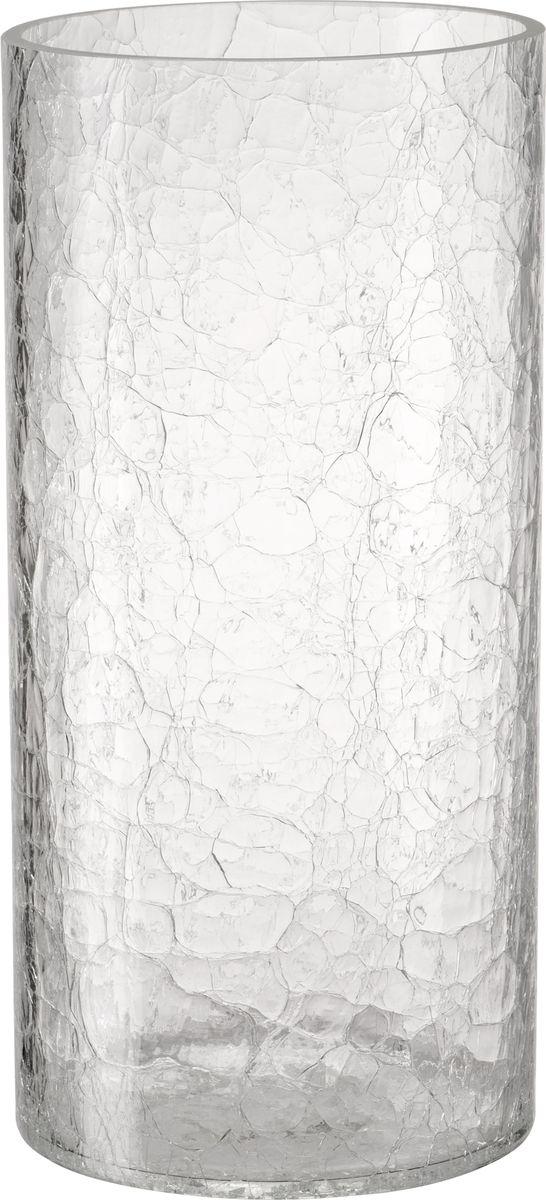 В современном мире ваза является неотъемлемым предметом украшения и декора интерьера создавая уют и гармонию в пространстве. Стеклянная ваза высотой 25 см, выполненная в уникальной технике кракле. Кракле - узор из тонких трещинок на глазурованной поверхности. Ваза притягивает к себе взгляд за счет преломления света в микротрещинках. Изделие станет не только оригинальным элементом декора, но прекрасно справится со своим прагматичным назначением - станет отличным сосудом для цветочного букета.