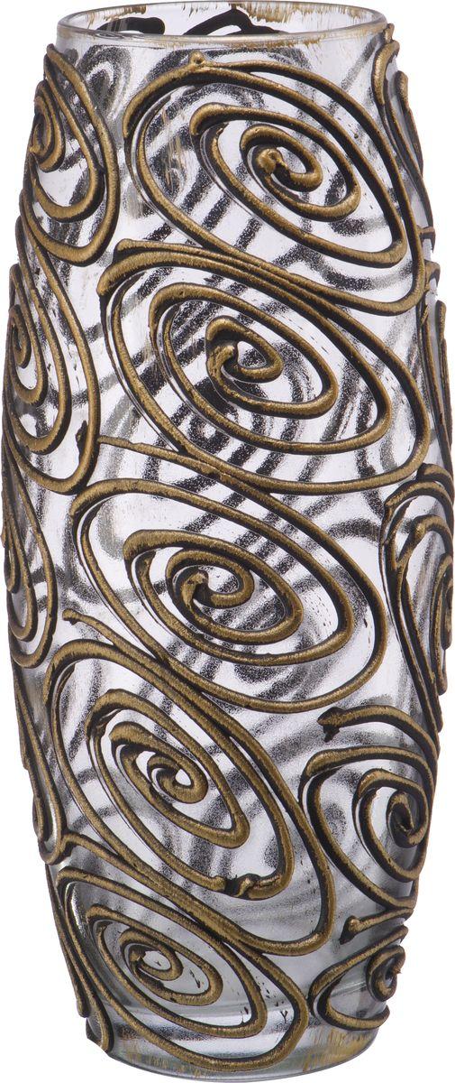 Ваза Engard Бочка. Бесконечность, 25 смHF-14-2В современном мире ваза является неотъемлемым предметом украшения и декора интерьера создавая уют и гармонию в пространстве. Стеклянная ваза высотой 25 см, декорированная золотыми символами бесконечности, выглядит стильно и оригинально. Изделие станет не