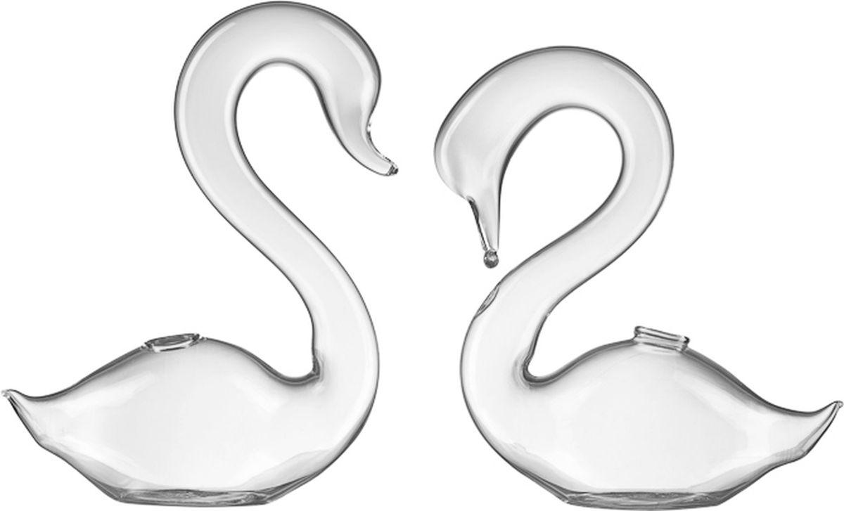 Ваза Engard Лебеди, 12 смWB-03Декоративная ваза Лебеди, выполненная из стекла. Украсит ваш интерьер или же станет отличным подарком для друзей и близких.
