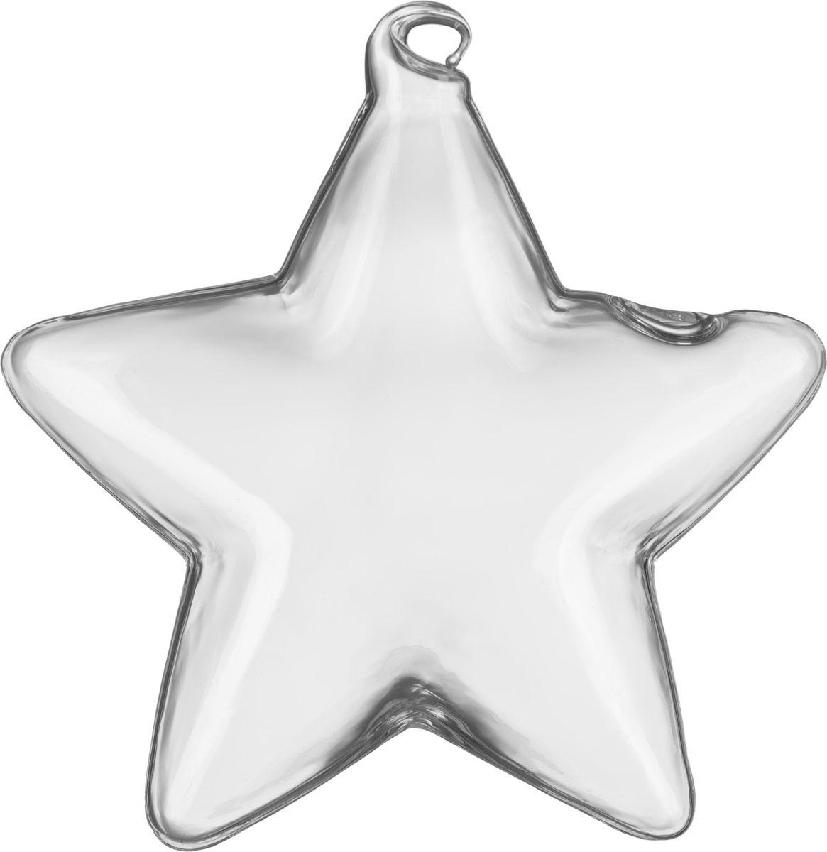 """Стеклянная ваза """"Звезда"""" - это изысканный предмет для декора вашего дома. Стекло, из которого она изготовлена, пропускает свет и создаёт интересный эффект преломления.  Форма звезды смотрится очень празднично и сказочно. Вазу можно эффектно подвесить."""