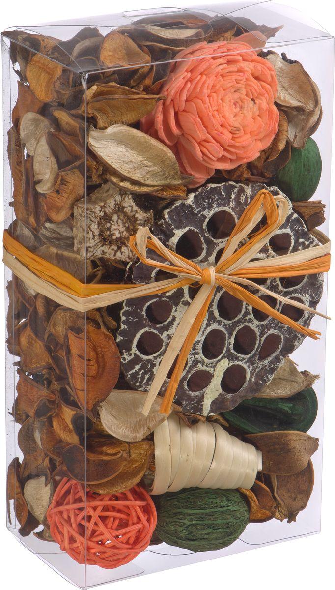 Набор сухоцветов ВеЩицы Апельсин, 20 х 10,5 смYW-SUH35Набор сухоцветов из натуральных материалов с ароматом Апельсин. Сухоцветы - это оригинальное дополнение в декоре интерьера. Яркие цвета, интересные формы, обилие расцветок делают этот вариант незаменимым при оформлении пространств.