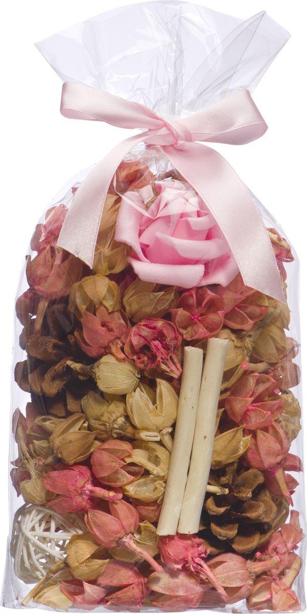Набор сухоцветов ВеЩицы Роза, 20 х 12 см фантазер josephine набор плетение из фольги серебрянная роза