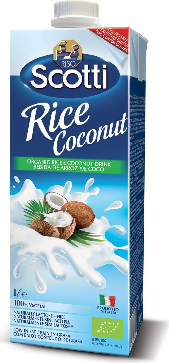 Riso Scotti Рисовый напиток с кокосом, 1 л