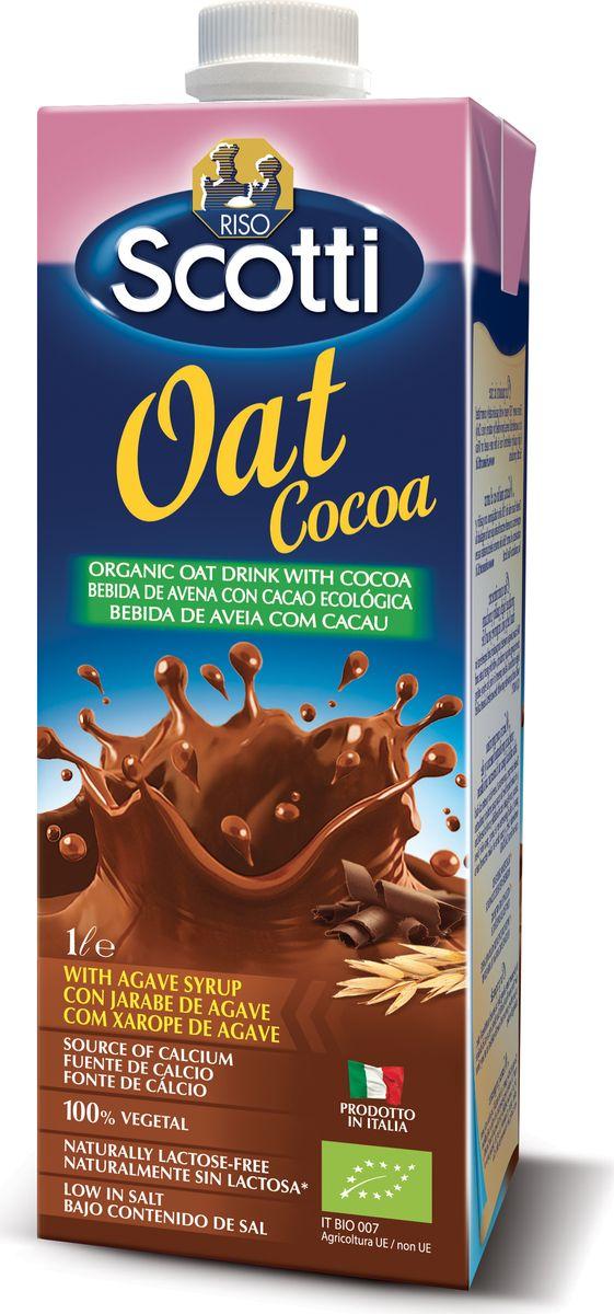 Riso Scotti Овсяный напиток с какао, 1 л добрый pulpy апельсин напиток сокосодержащий с мякотью 0 9 л