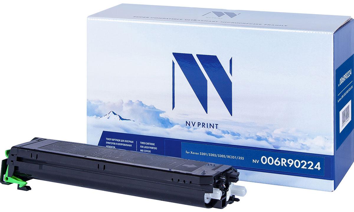 NV Print 006R90224, Black тонер-картридж для Xerox XC 351/355/5201/5305NV-006R90224Совместимый лазерный картридж NV Print 006R90224 для печатающих устройств Xerox - это альтернатива приобретению оригинальных расходных материалов. При этом качество печати остается высоким. Картридж обеспечивает повышенную чёткость текста и плавность переходов оттенков цвета и полутонов, позволяет отображать мельчайшие детали изображения.Лазерные принтеры, копировальные аппараты и МФУ являются более выгодными в печати, чем струйные устройства, так как лазерных картриджей хватает на значительно большее количество отпечатков, чем обычных. Для печати в данном случае используются не чернила, а тонер.