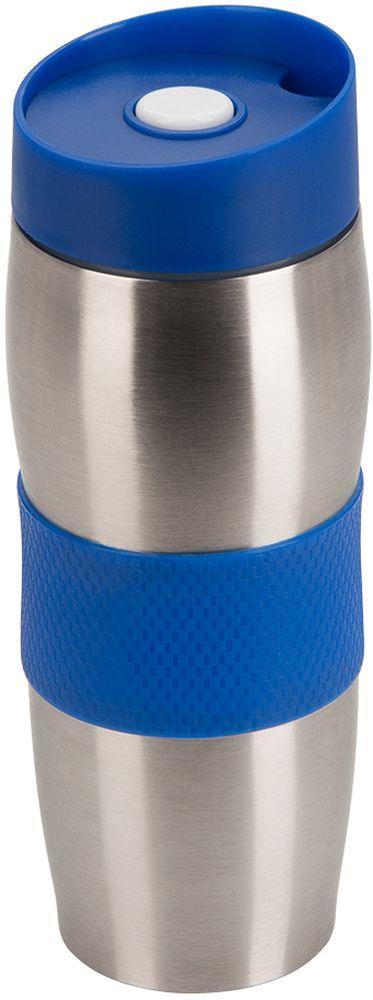 Термокружка Regent Inox Gotto, цвет: синий, 380 мл в а касьянов в ф дмитриева физика 8 класс рабочая тетрадь с тестовыми заданиями егэ