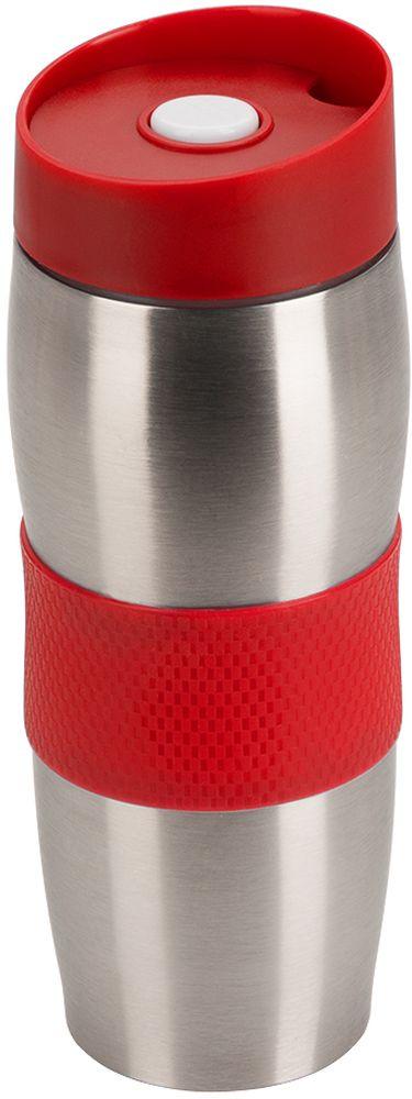 Термокружка Regent Inox Gotto, цвет: черный, 450 мл