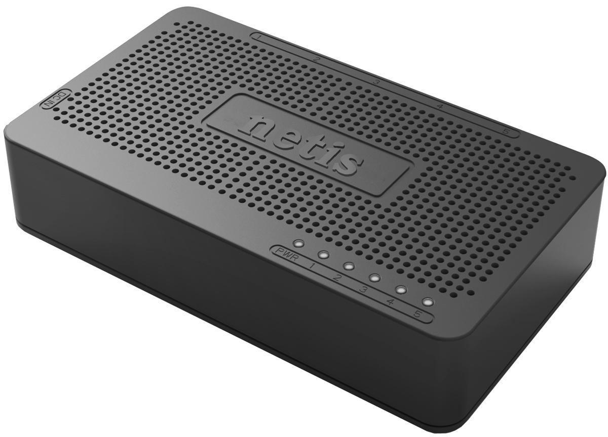netis ST3105S коммутаторST3105SКоммутатор netis ST3105S Fast Ethernet позволяет легко расширить проводную сеть с помощью 5 портов RJ45 10/100Mбит/с с автосогласованием. Все порты поддерживают автоматическое определение MDI/MDIX, устраняя необходимость в перекрестных кабелях или портах Uplink. Вместе с функциями plug-and-play (включи и работай) и энергосбережения Green Power коммутатор является недорогим, простым в использовании, высокопроизводительным, беспроводным устройством. Коммутатор будет стандартным обновлением для улучшений вашей сети до сети с производительностью 100 Мбит.