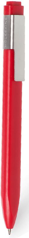 Moleskine Ручка шариковая Classic Click цвет корпуса красный цвет чернил черный1004450Идеально сочетается с блокнотом Moleskine, специально предназначена для крепления на стороне классической черной обложки. Характеристики: черные чернила; стержень с шариковым наконечником; заменяемые стержни; втягивающийся пишущий узел; матовая пластиковая поверхность; серая клипса из нержавеющей стали (запатентованная конструкция) с выгравированным логотипом; 16 стикеров, с помощью которых вы сможете сделать свою ручку особенной