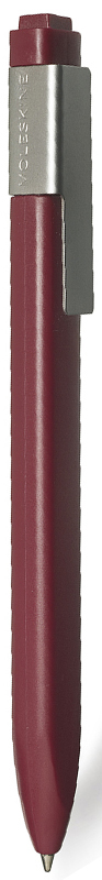 Moleskine Ручка шариковая Classic Click цвет корпуса бордовый цвет чернил черный1004462Идеально сочетается с блокнотом Moleskine, специально предназначена для крепления на стороне классической черной обложки. Характеристики: черные чернила; стержень с шариковым наконечником; заменяемые стержни; втягивающийся пишущий узел; матовая пластиковая поверхность; серая клипса из нержавеющей стали (запатентованная конструкция) с выгравированным логотипом; 16 стикеров, с помощью которых вы сможете сделать свою ручку особенной