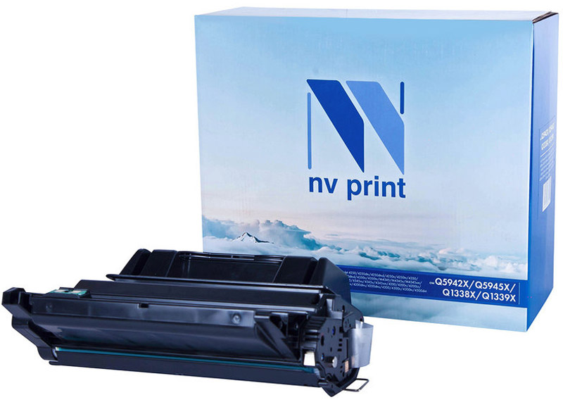Фото NV Print NV-Q5942X/Q5945X/Q1338X, Black тонер-картридж для HP LaserJet 4250/4250dtn/4250dtnsl/4250n/4250tn/4350/4350dtn/4350dtnsl/4350n/4350tn