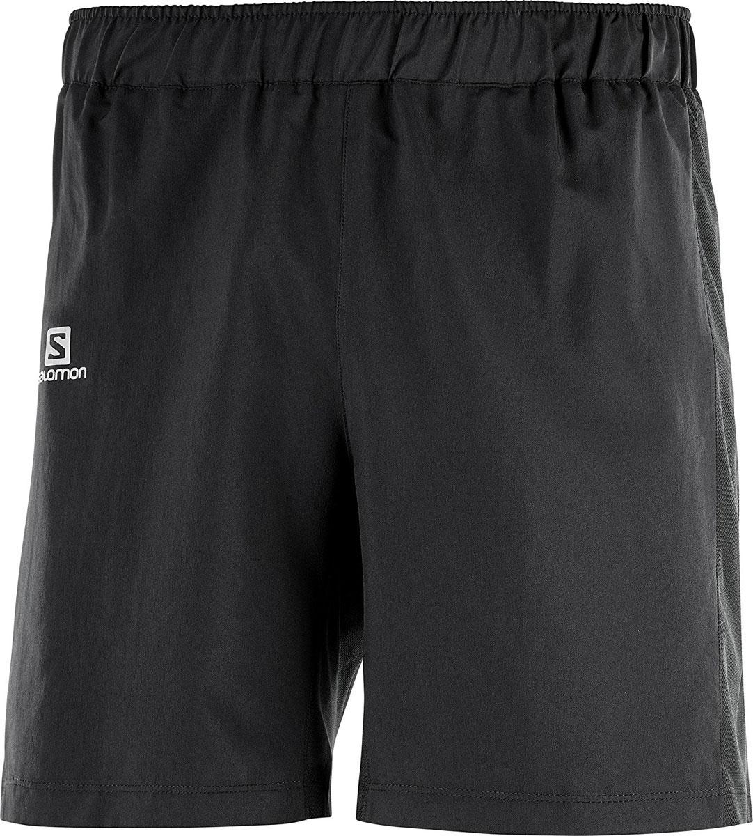 Шорты мужские Salomon Agile 7 Short M, цвет: черный. L40118300. Размер XL (52)L40118300