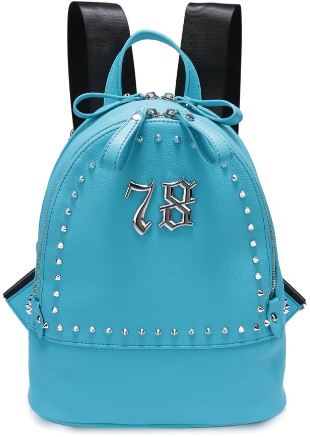 Рюкзак женский OrsOro, цвет: бирюзовый, 24 x 30 x 13 см. DS-826/2 цена