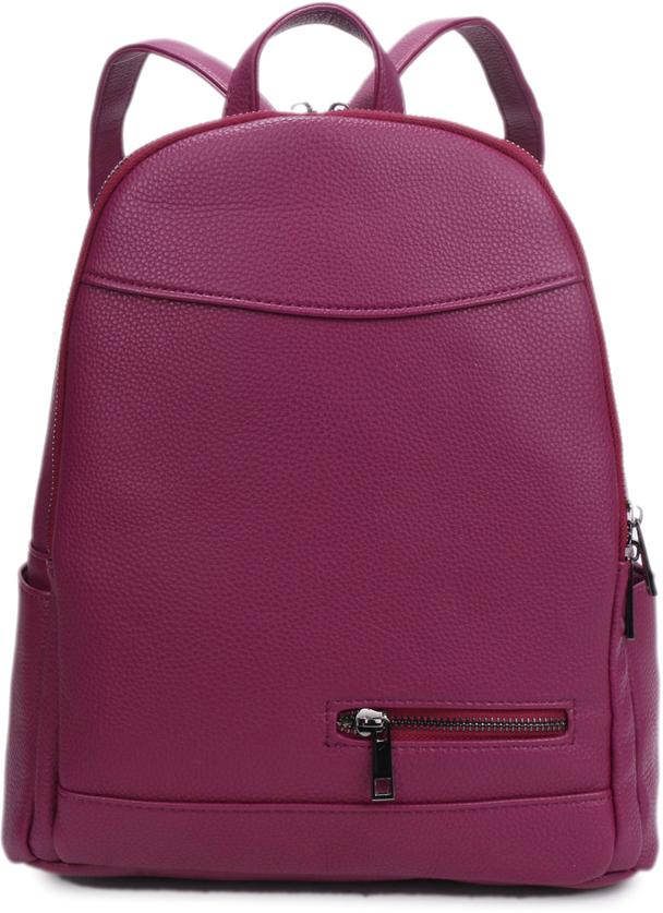Рюкзак женский OrsOro, цвет: бордовый, 27 x 32 x 14 см. DS-840/2