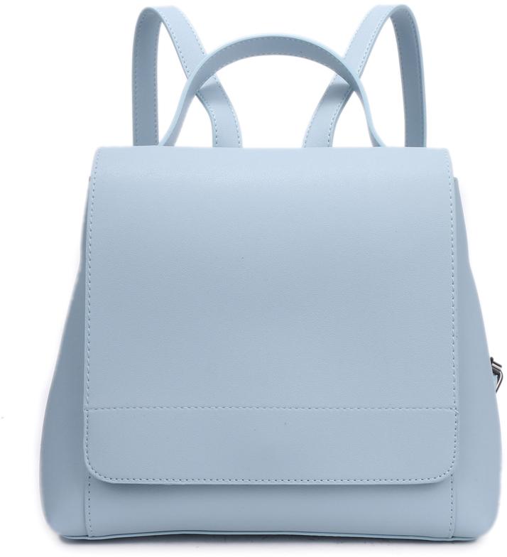 Рюкзак женский OrsOro, цвет: голубой, 26 x 23 x 13 см. DS-834/2