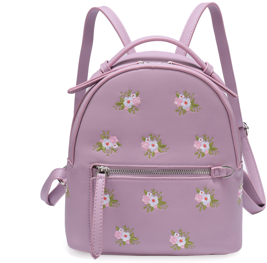 Рюкзак женский OrsOro, цвет: розовый, 23 x 24 x 12 см. DS-833/2 цена и фото
