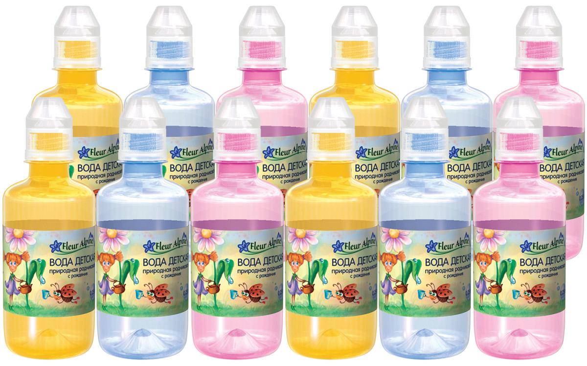 Fleur Alpine Вода детская питьевая с рождения, 12 шт по 0,25 л fleur alpine organic вода детская питьевая с рождения 0 25 л