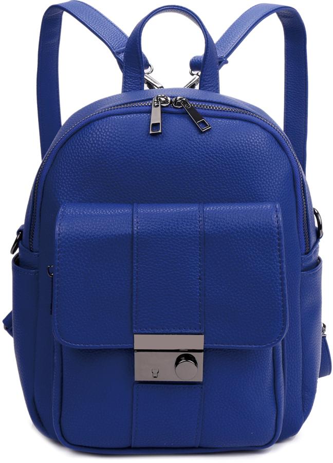 Рюкзак женский OrsOro, цвет: синий, 23 x 29 x 13 см. DS-839/3