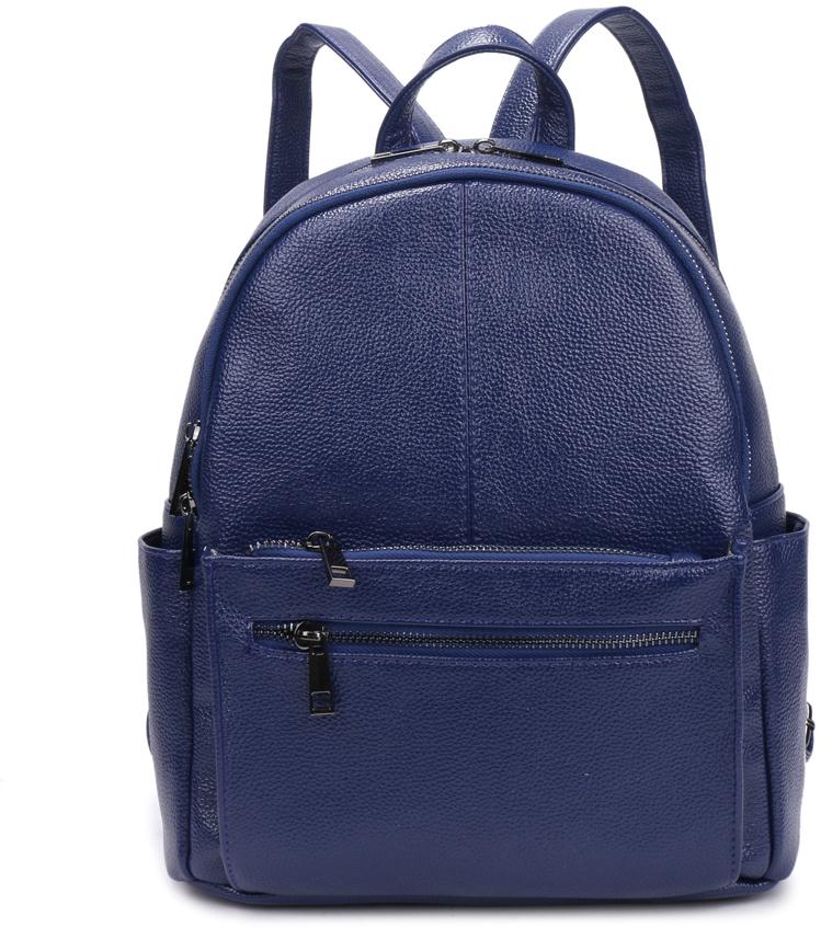 Рюкзак женский OrsOro, цвет: синий, 27 x 33 x 14 см. DS-835/3