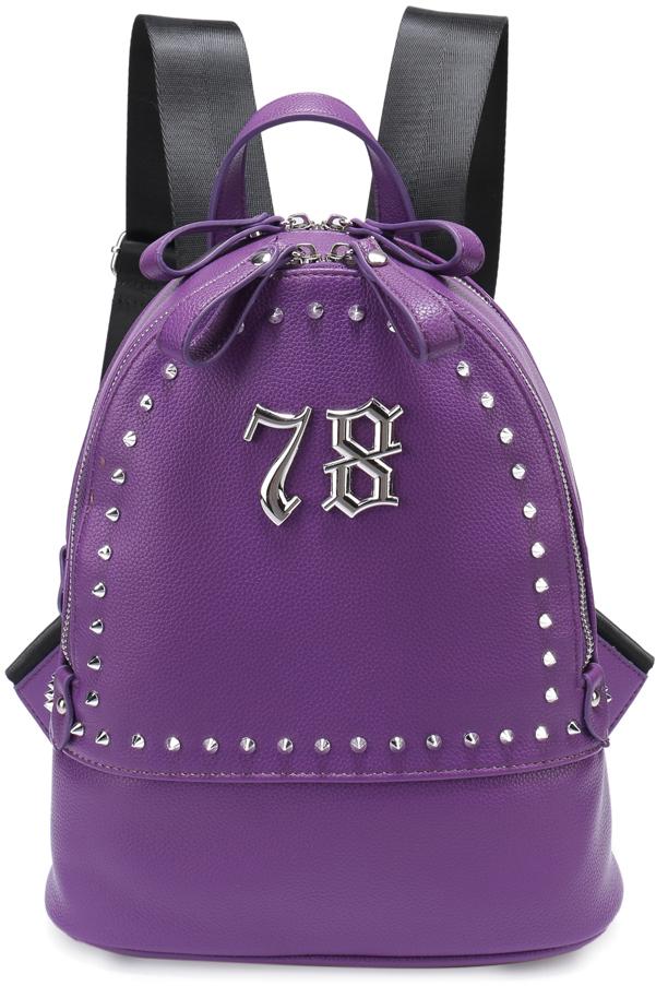 Рюкзак женский OrsOro, цвет: фиолетовый, 24 x 30 x 13 см. DS-826/3 цена и фото