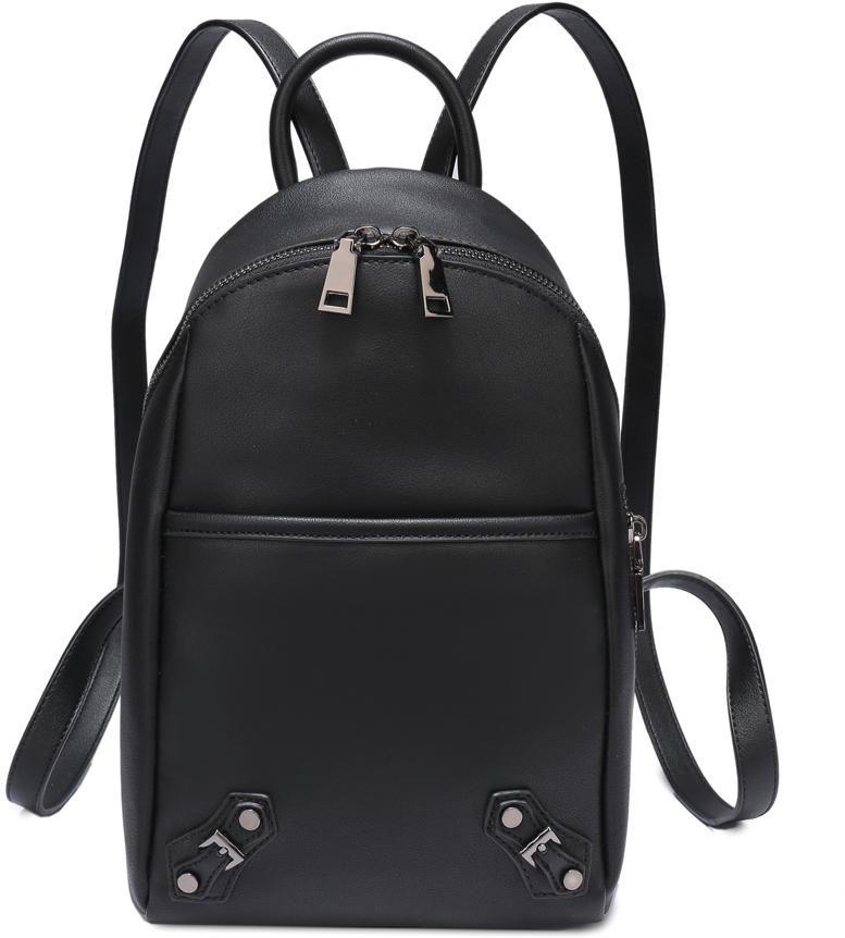 Рюкзак женский OrsOro, цвет: черный, 18 x 33 x 10 см. DS-829/1 orsoro ds 871 1 black