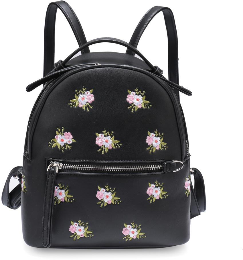 Рюкзак женский OrsOro, цвет: черный, 23 x 24 x 12 см. DS-833/1 orsoro ds 871 1 black