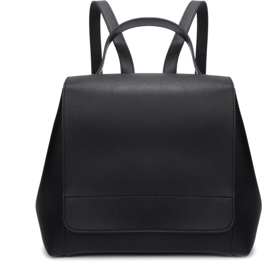 Рюкзак женский OrsOro, цвет: черный, 26 x 23 x 13 см. DS-834/3