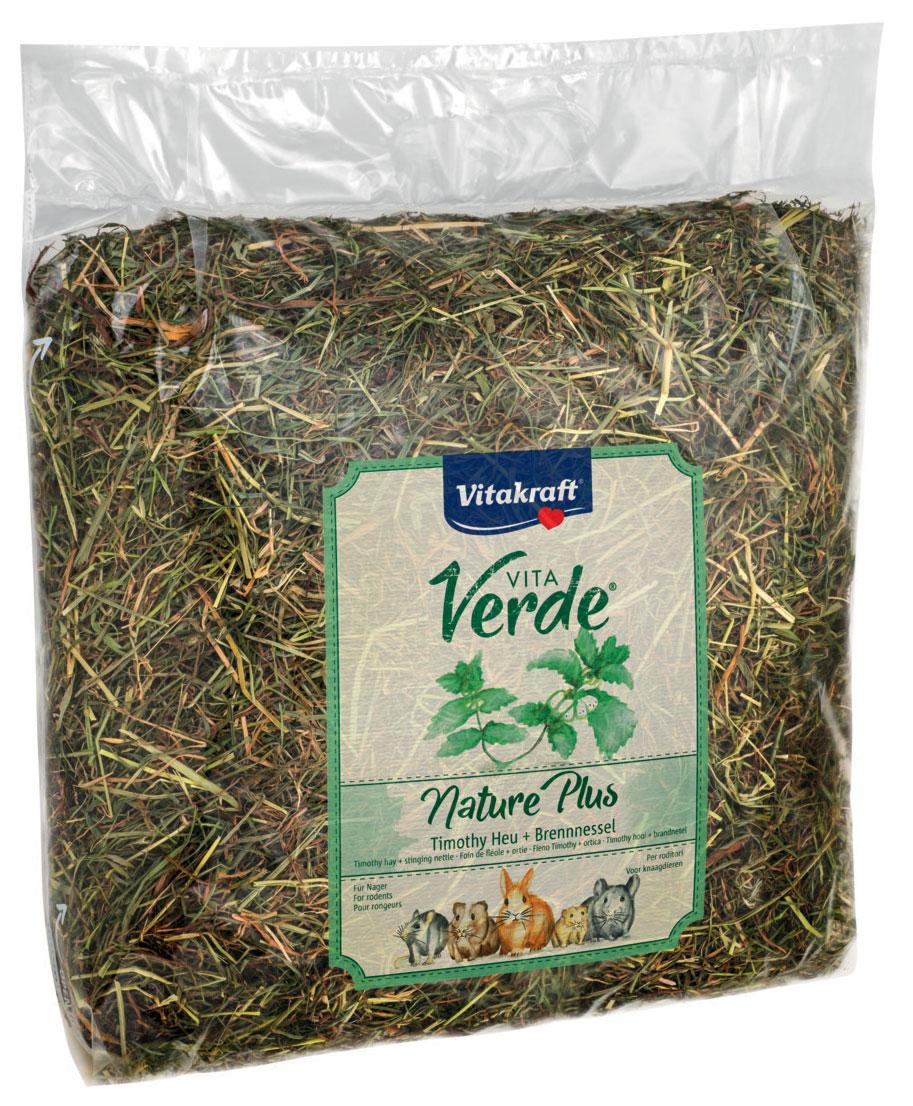 Сено луговое Vitakraft Vita Verde, с крапивой, 500 г13069Сено луговое Vitakraft Vita Verde с крапивой из тщательно отобранных луговых трав. В листьях крапивы содержится большое количество каротина, что помогает укрепить иммунную систему организма и стимулирует правильный обмен веществ. Сено может быть использовано в качестве наполнителя в клетку и в качестве корма. Ежедневно давайте грызунам свежую порцию сена. Товар сертифицирован.Уважаемые клиенты! Обращаем ваше внимание на возможные изменения в дизайне упаковки. Качественные характеристики товара остаются неизменными. Поставка осуществляется в зависимости от наличия на складе.