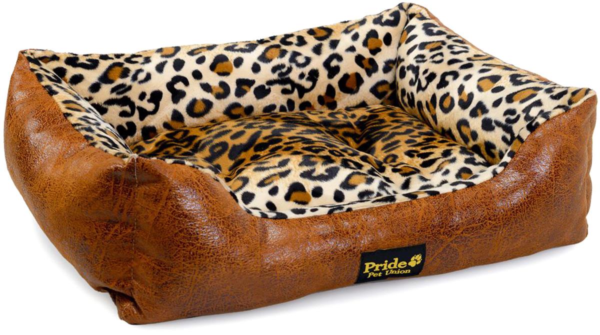Лежак для животных Pride Кения, 67 х 60 х 23 см лежак для животных happy house sport 115 х 95 х 20 см