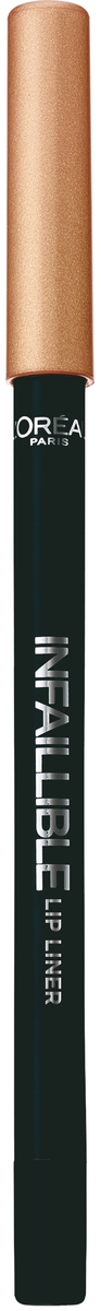 LOreal Paris Карандаш для контура губ Infaillible, оттенок 001, Идеальное сияниеA9305060Стойкий карандаш для губ помогает создать идеальный контур и не дает помаде растекаться. Невероятный выбор насыщенных ультрамодных оттенков.
