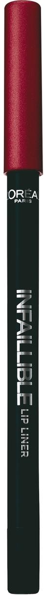 LOreal Paris Карандаш для контура губ Infaillible, оттенок 701, Волшебный цветокA9305660Стойкий карандаш для губ помогает создать идеальный контур и не дает помаде растекаться. Невероятный выбор насыщенных ультрамодных оттенков.