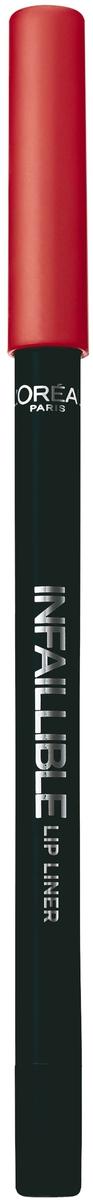 LOreal Paris Карандаш для контура губ Infaillible, оттенок 201, Голливудский БежевыйA9305860Стойкий карандаш для губ помогает создать идеальный контур и не дает помаде растекаться. Невероятный выбор насыщенных ультрамодных оттенков.
