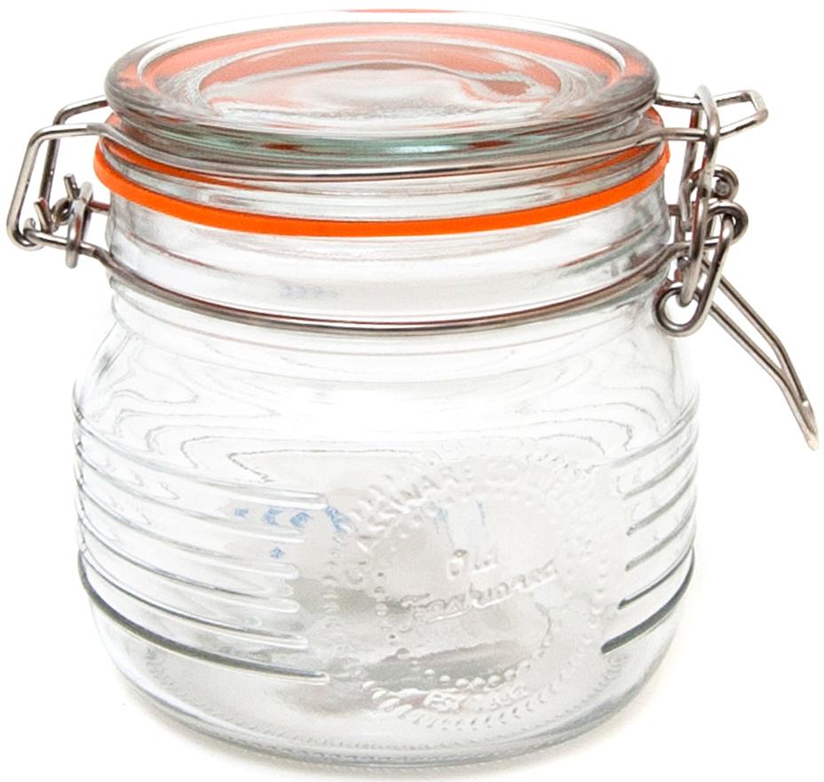 Банка для специй Banquet Crystal, с клипсой, 500 млKE212849Банка для специй из стекла обьемом 500 мл – рациональный вариант хранения соли и ароматных приправ, используемых в кулинарии. Стеклянные баночки гигиеничны, надежно предохраняют содержимое от сырости. Прозрачность стенок облегчает поиск нужной специи, хорошо видно, не пора ли пополнить запасы. Крышка плотно закрывается. Емкость, имеющая стильный дизайн, отлично впишется в интерьер. Изделия можно мыть в посудомоечной машине.