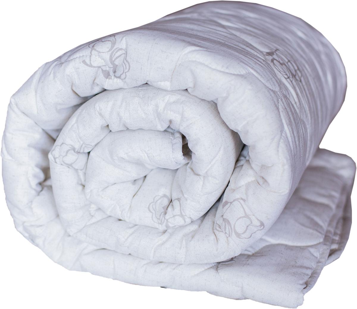 Изделия из хлопкового волокна ценят за их мягкость и теплоту. Хлопок - это здоровый натуральный природный материал, он хорошо регулирует температуру, согревая тело во время сна.  Одеяло изготовлено из ткани поликоттон гладкокрашеный с фирменной стежкой и дизайном.  Окантовано изделие косой бейкой.  Изделие пышное, легкое и очень теплое.