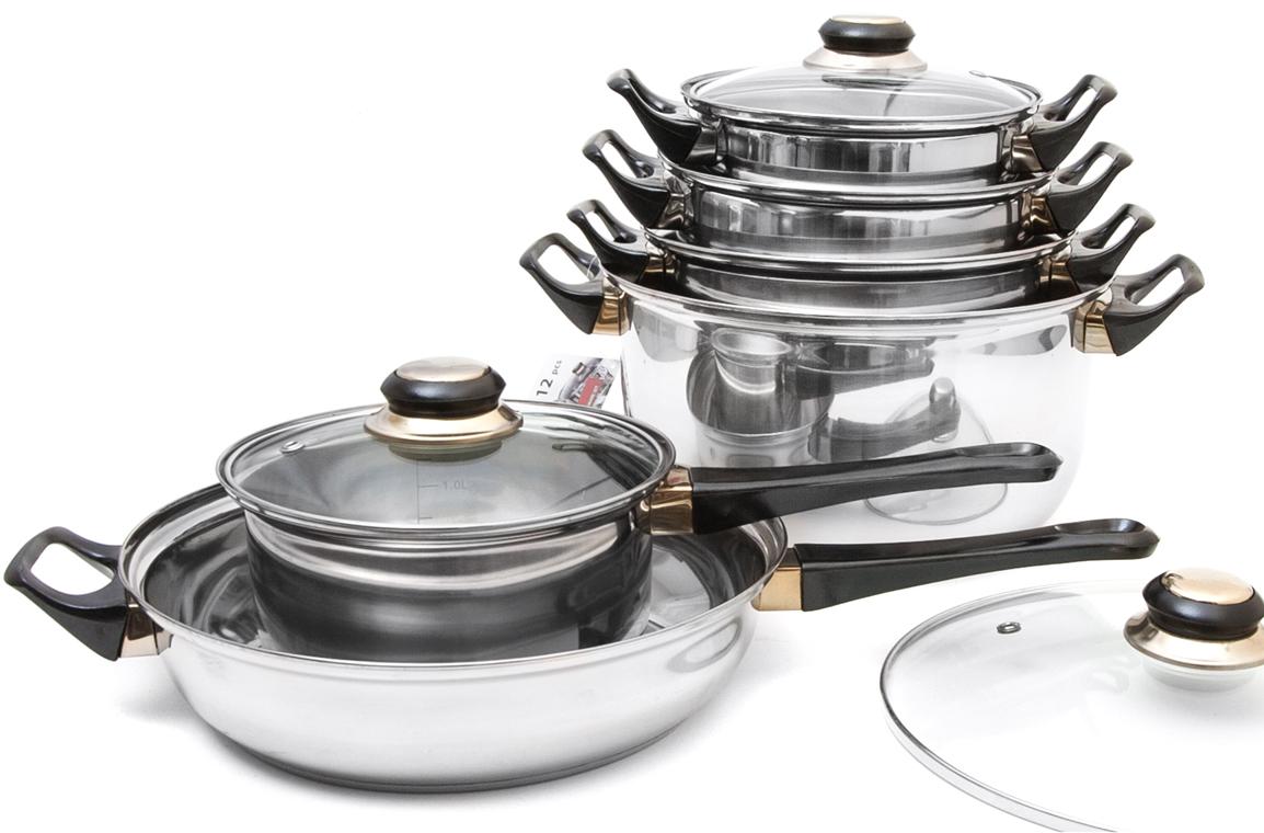 Набор посуды Ambition, 12 предметов mixer fader single joint potentiometer b10k 6 cm