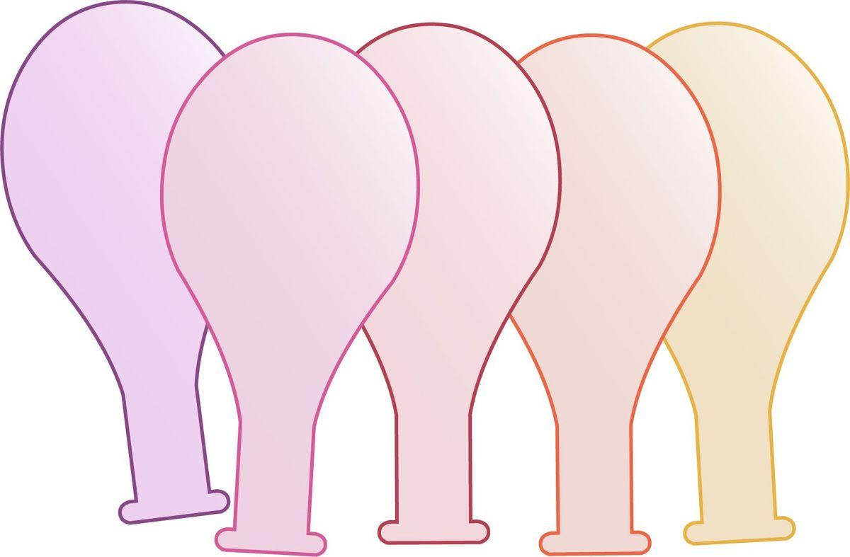 BubaBloon Воздушные шарики 5 шт 04007